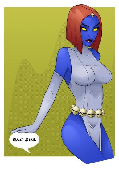 Mystique (X-Men) by jussta